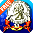 Amazing Coin(USD) FREE: Money learning & counting game for kids mobile app icon